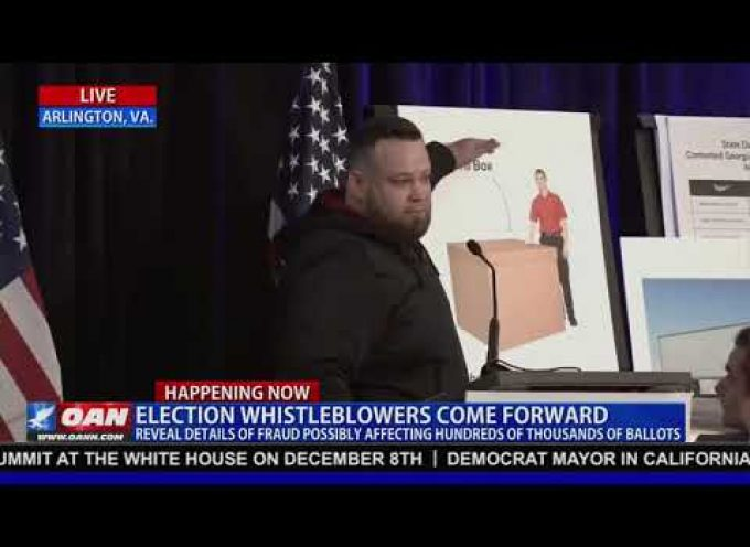 A truck driver with USPS says he was suspicious of his cargo load of 288,000 COMPLETED ballots