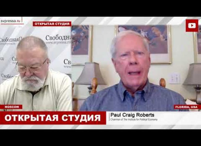 """Interview of Paul Craig Roberts with Russia's """"Free Press"""""""