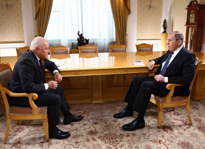 Foreign Minister Sergey Lavrov's interview with Director General of Rossiya Segodnya International Information Agency Dmitry Kiselev Moscow, April 28, 2021