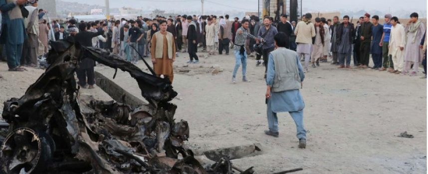 Amidst Troops withdrawal, a disastrous School-Blast in Afghanistan
