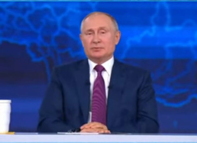 Putin holds annual 'Direct Line' Q&A in Moscow