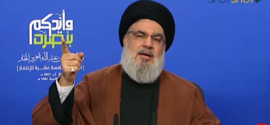 Nasrallah suggests Lebanese politicians aiding militants in Syria behind nitrate stockpile at Beirut Port