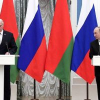News conference following Russian-Belarusian talks (important development of 'Union State')