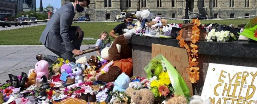 Bury My Heart at Bended Knee (An Experimental Epitaph for Canada)