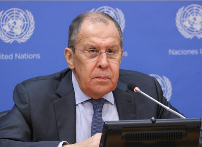 Foreign Minister Sergey Lavrov's news conference to sum up the high-level meetings week at the 76th session of the UN General Assembly, New York, September 25, 2021