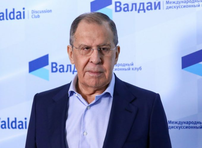 FM's Sergey Lavrov's answers to media at the 18th Valdai Club